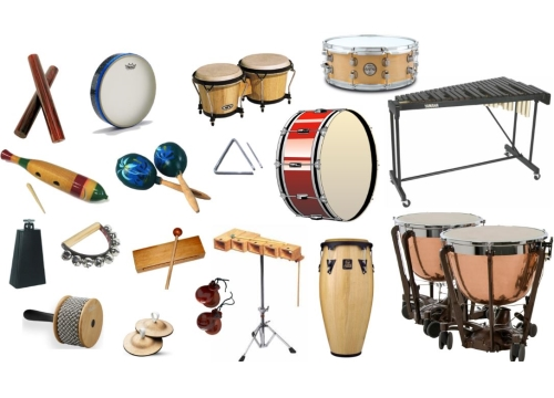 Famille d'instruments de percussion