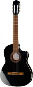 guitare electro-acoustique Thomann Classic-CE Guitar Black 4/4