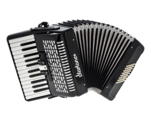 Atouts de l'accordéon Startone Maja 48 Accordion Black