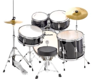 Description de la batterie acoustique Millenium MX Jr.Junior Drumset