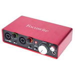 Carte son Focusrite Scarlett 2i2 2nd Gen